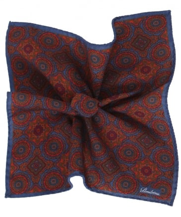 Jacquard Wool Pocket Square