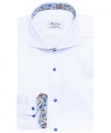 Fitted Twofold Cotton Shirt