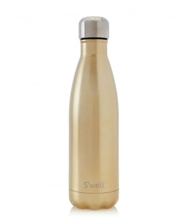 17oz Sparkling Metallic Water Bottle