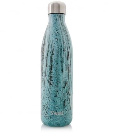 25oz Teal Wood Water Bottle