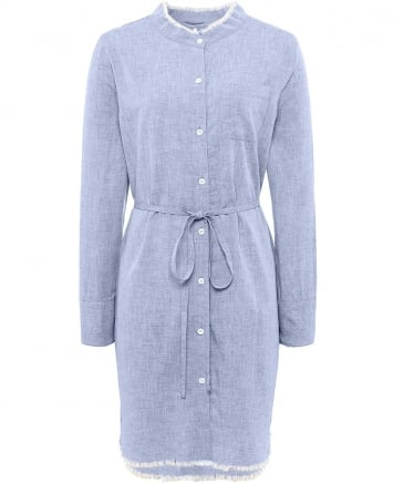 Prince And Mott Denim Shirt Dress