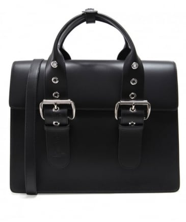Leather Alex Buckle Business Bag