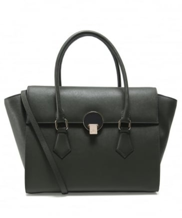 Saffiano Leather Opio Handbag
