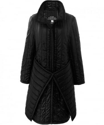 Quilted Rico Puffa Coat
