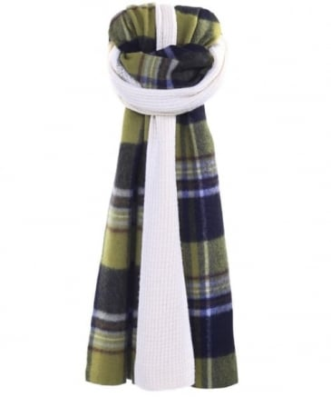 Cashmere Blend Gingham Scarf