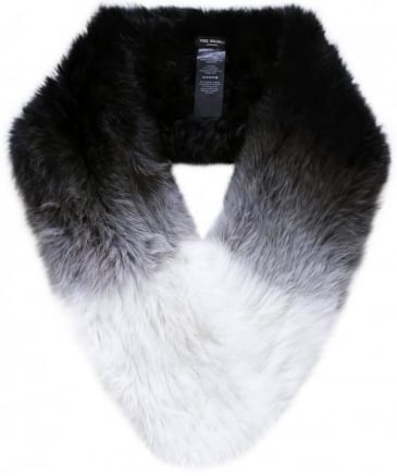 Ombre Fur Loop Scarf